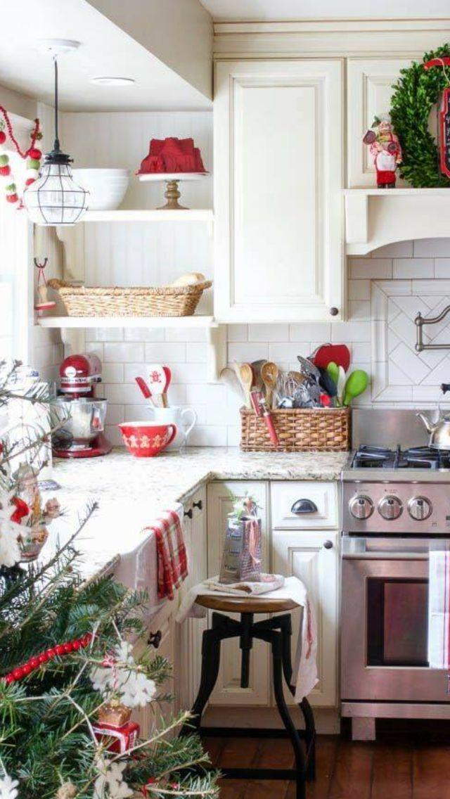 Großartig Weihnachtsküchentischdekorationen Ideen - Ideen Für Die ...
