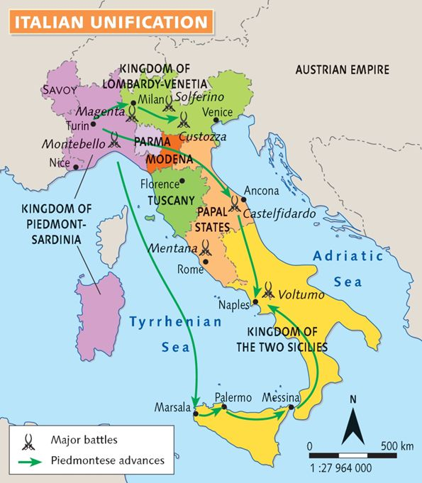 Italian Unification                                                                                                                                                                                 More