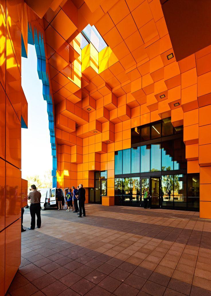 Wanangkura Stadium in Port Hedland by ARM Architecture