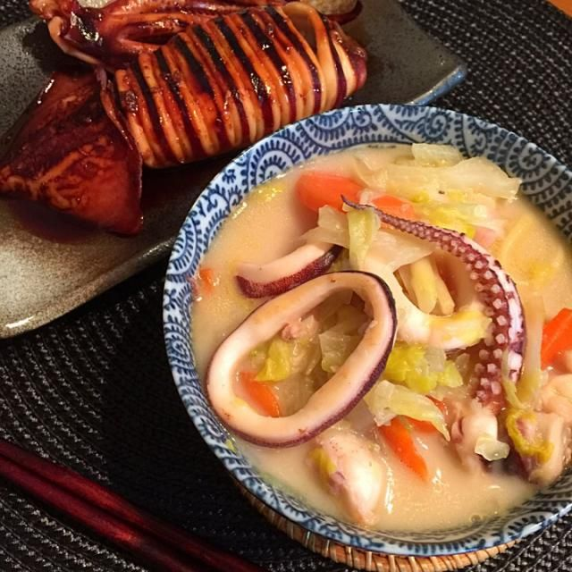 チャンポン麺、イカ焼き。 - 29件のもぐもぐ - チャンポン麺。 by titosetosiori