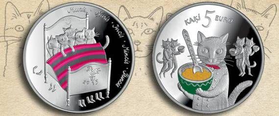 ラトビアで誕生した猫の銀貨が可愛い(画像・動画) : コピペ情報局