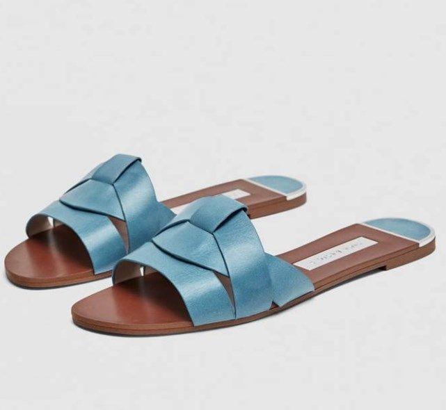 Yazlik Zara Deri Sandalet Modeli 2019 Zara Zaramule Zarasandals Sandals Fashion Summer Sandalet Topuklu Sandalet Bayan Ayakkabi