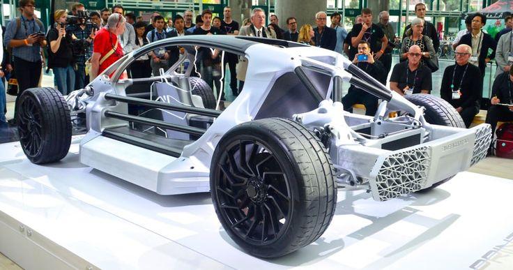 $23 million investment for 3D printer supercar manufacturers Divergent 3D
