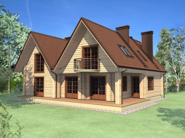 Case din panouri din lemn