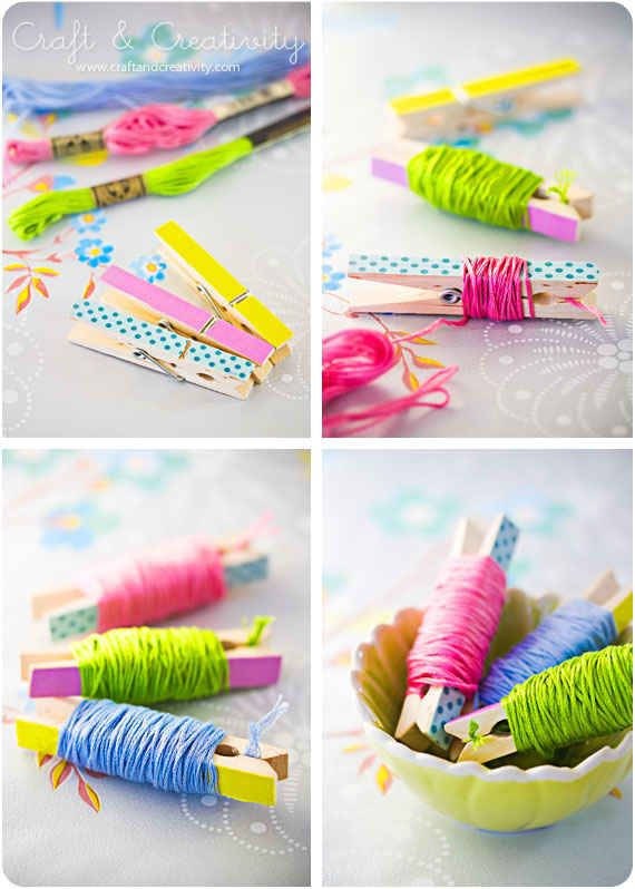 Embroidery Thread Pegs