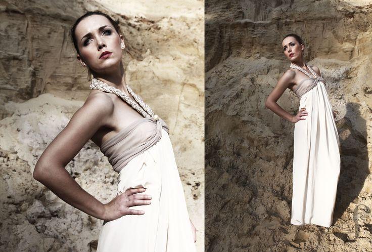 bridal dress by Emilia Sikorska www.emfaso.com