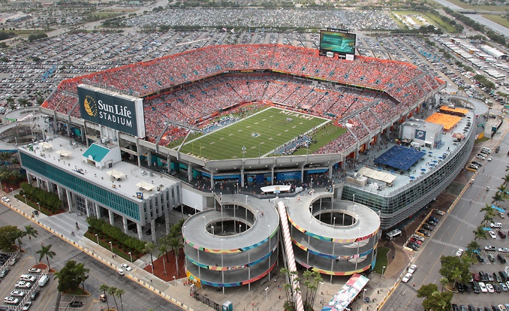 Sun Life Stadium - Miami Dolphins... December 29th can't come soon enough