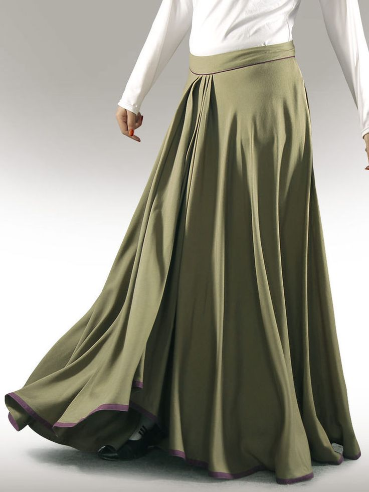Green Skirt Modest Made To Measure Plus Sizes Tall Petite 8 S M L XL 20 22 24 26