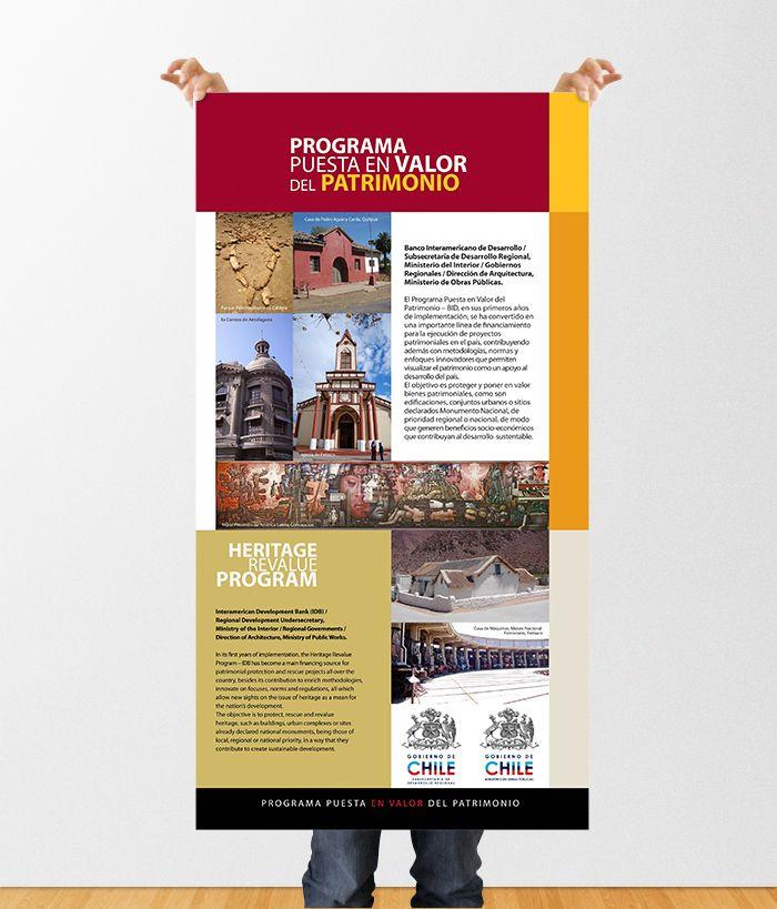 Diseño de Gráfica para campaña del MOP