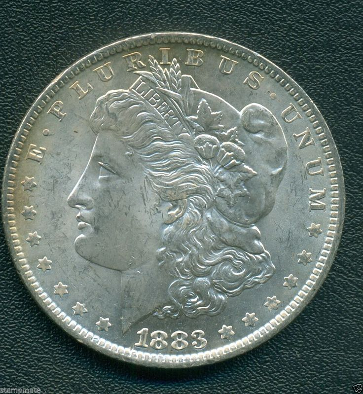 USA MORGAN DOLLAR 1883 O Superb Gem a/Uncirculated Toned HIGH QUALITY