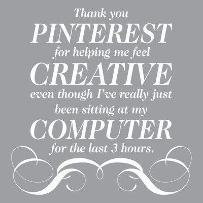 Luscious on Pinterest - quote about Pinterest
