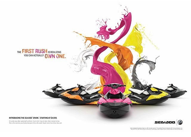 Seventh Street Studio colorful print ad designs | Product ...