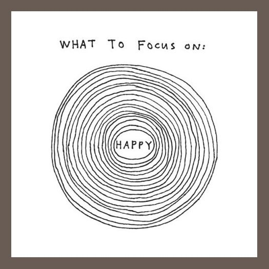happy circles drawing by Marc Johns. available as a temporary tattoo via Tattly/Swiss Miss.
