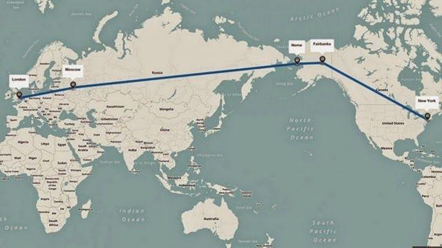 Η.W.N.: Ο υπερ-αυτοκινητόδρομος των 21.000 χιλιομέτρων που θα ενώνει το Λονδίνο με τη Νέα Υόρκη