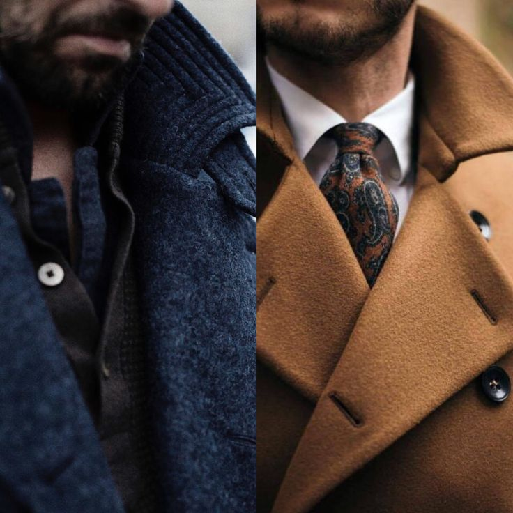 Casual or Dressed, pop the coat collar!