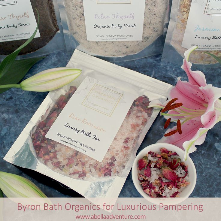 Byron Bath Organics for Luxurious Pampering | A Bella Adventure | http://www.abellaadventure.com/beauty/byron-bath-organics/