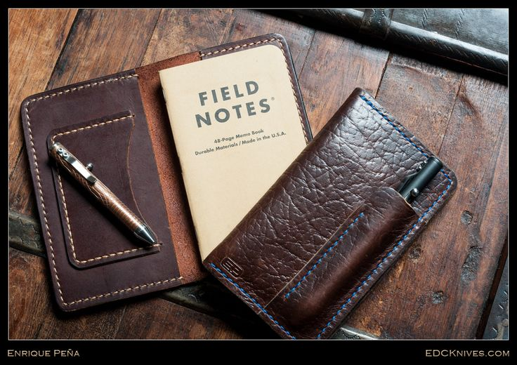 (http://www.edcknives.com/enrique-pena-field-notes-cover/)