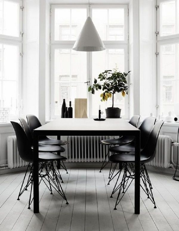 44 Cool Scandinavian Dining Room Ideas And Designs Dining room in