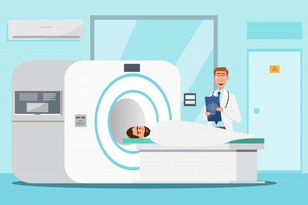 Dibujos Animados Isometrica De Escaner De Resonancia Magnetica De Medico Y Pacientes En Examen De Exploracion Descargar Vectores Gratis Vector Vectores Gratis