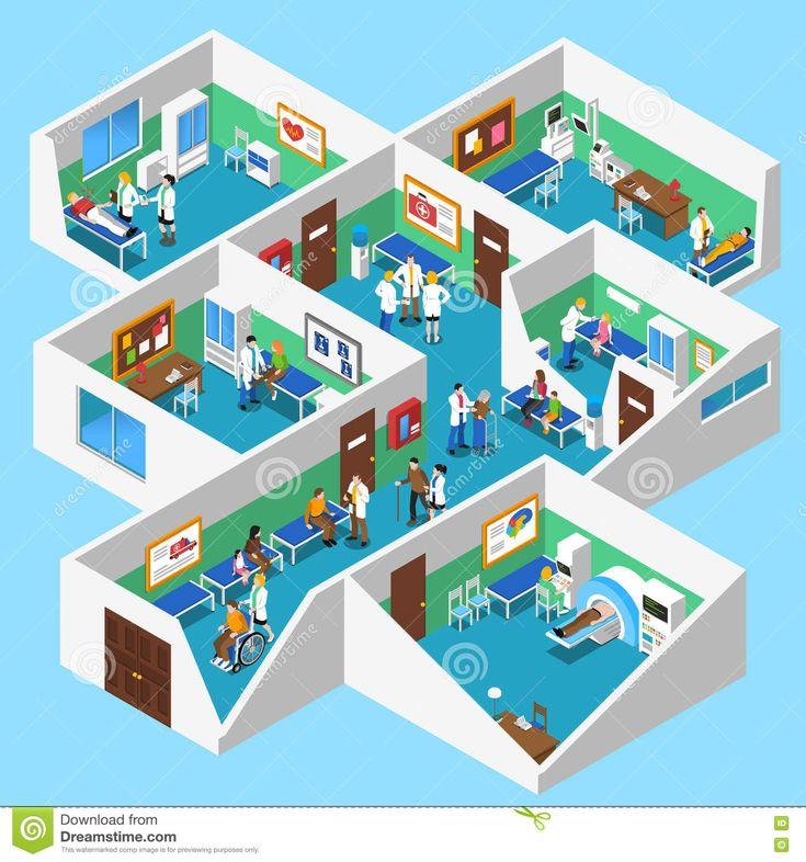 hospital-facilities-interior-isometric-view-poster-ground-floor-design-mri-facility-patients-nurses-doctor-assistants-73271141.jpg (1300×1390)