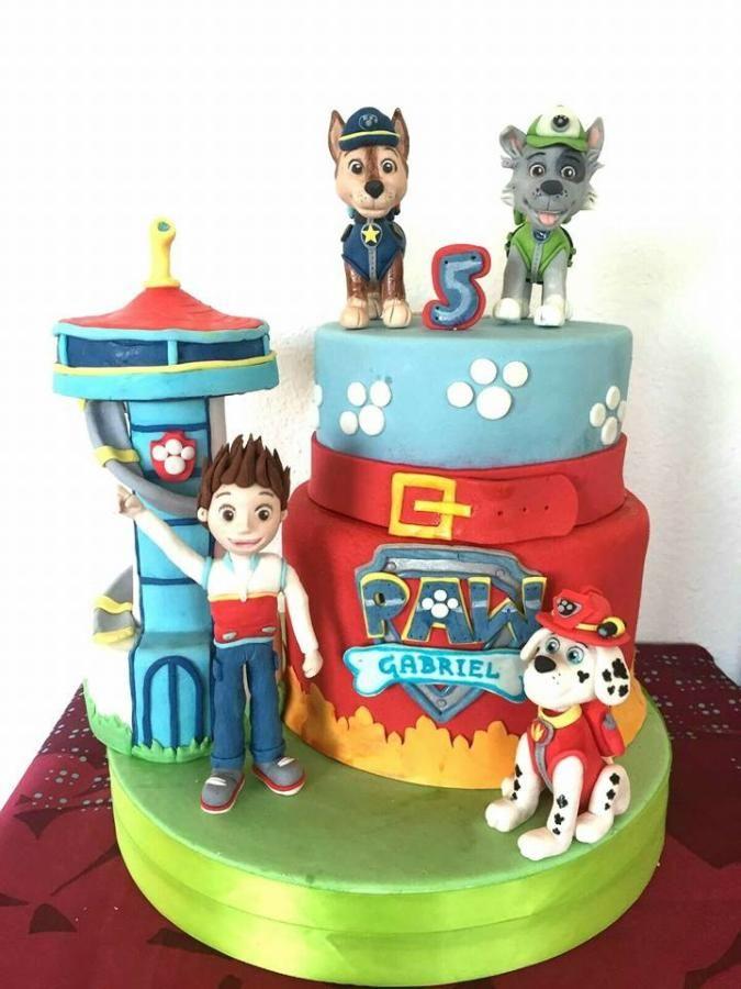 paw patrol cake by stefania