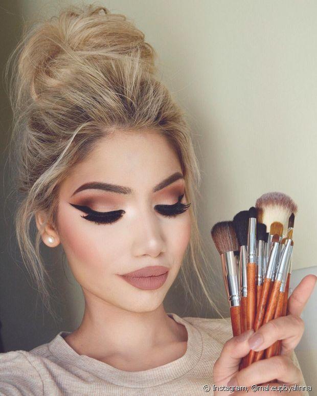 Delineado asa de anjo: já conhece a tendência de maquiagem que está bombando entre as brasileiras no Instagram? Confira!