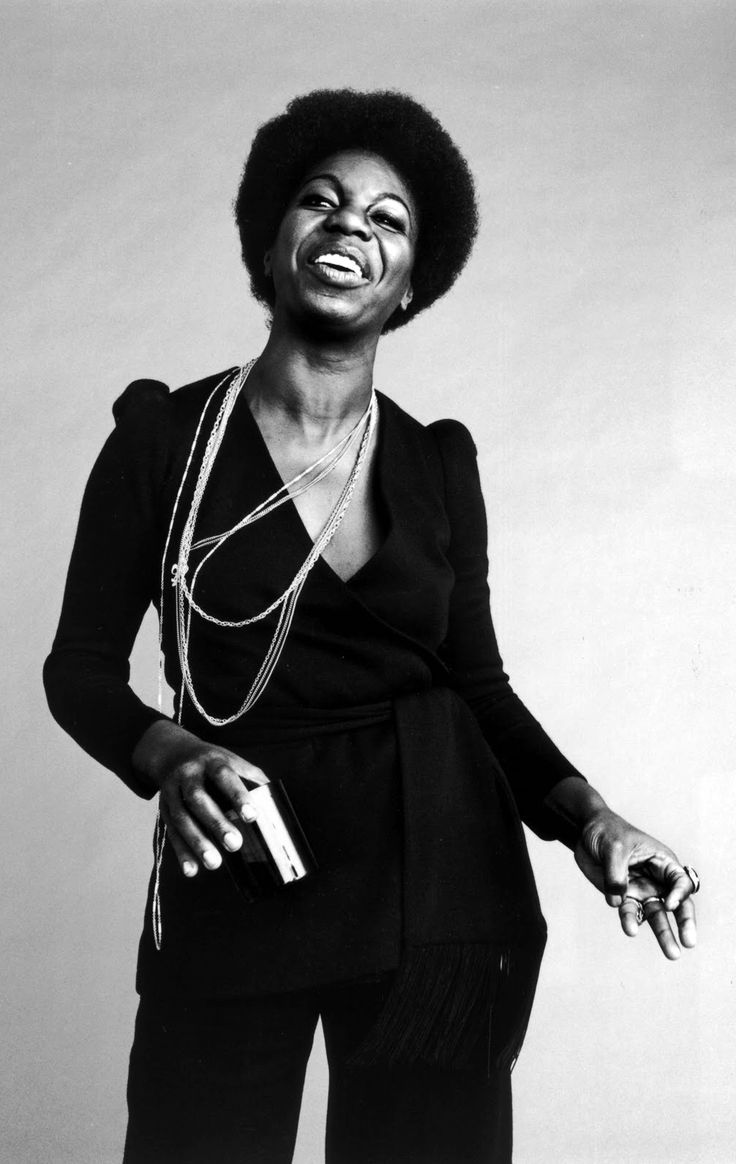 Nina Simone :: Singer. Activist. Feminist. Lover of her people. Unapologetically, beautifully Black.