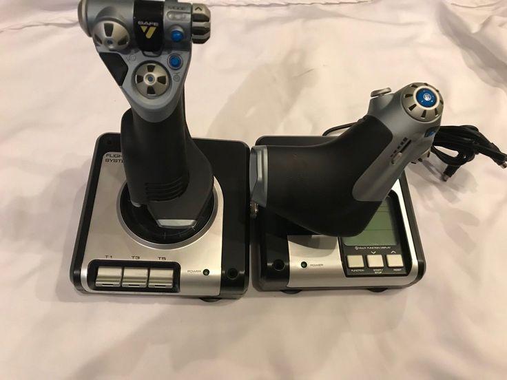 Saitek X52 Flight Sim Simulator Control System Set Joystick Throttle w/ Cable!: $69.99 End Date: Sunday Mar-25-2018 13:59:00 PDT Buy It Now…