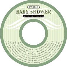 cd sticker template