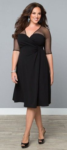 Plus Size Onyx Sugar & Spice Dress
