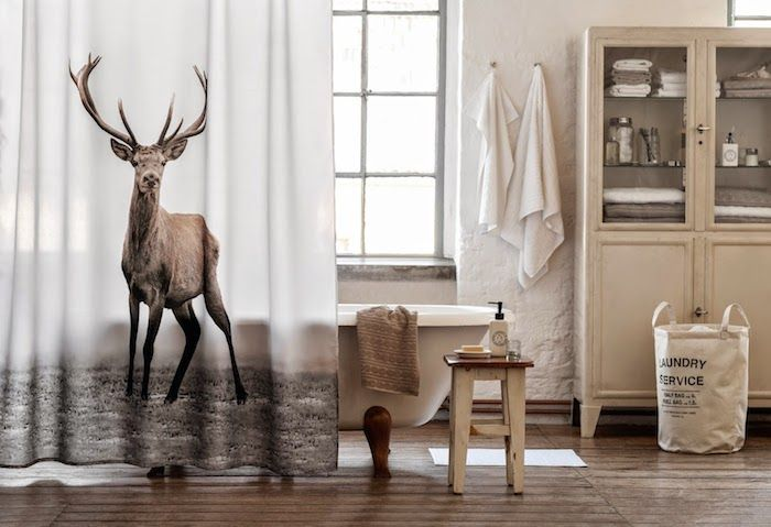 Cortinas De Baño H&M:Emma Persson Lagerberg for H&M Home