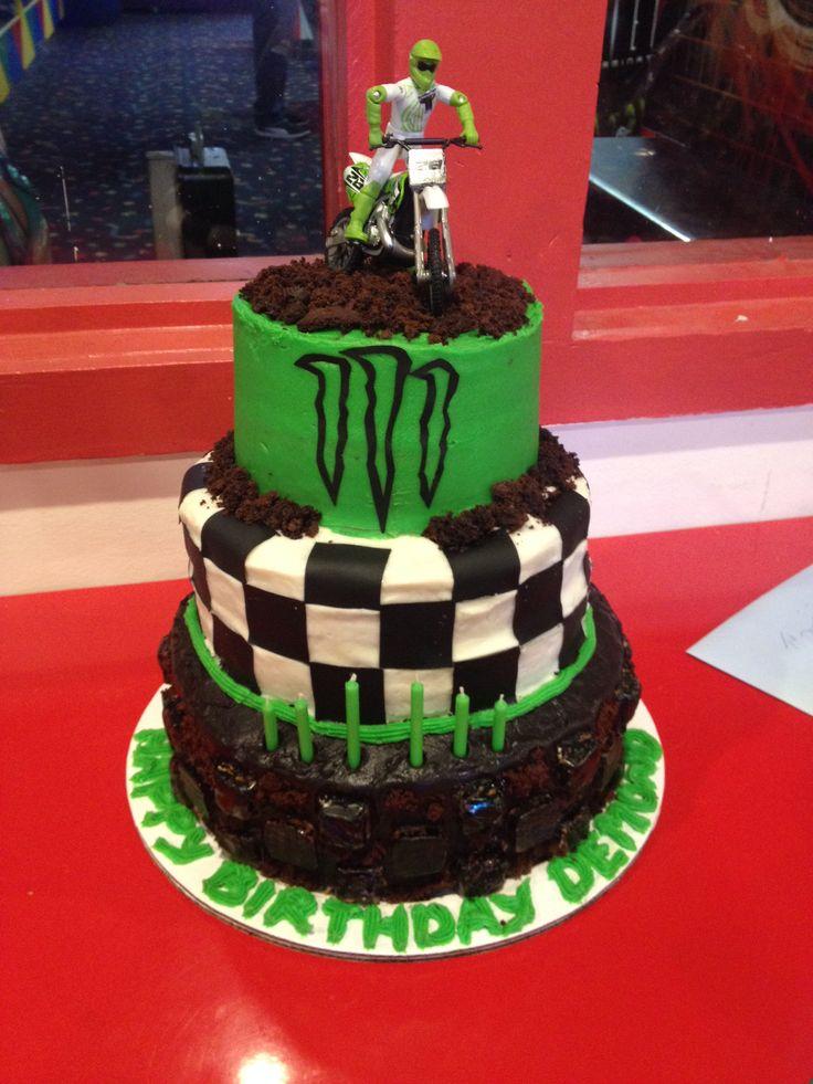 Monster Energy Supercross Cake for Demond