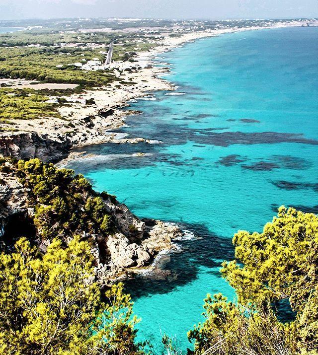 #illes #balears #formenteta #mar #mediterrani #muntanya #arbrrs #verds #photography #instagram #travel #photo #viajar #instahramer