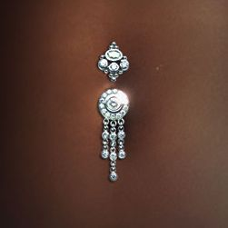 Cute belly ring <3