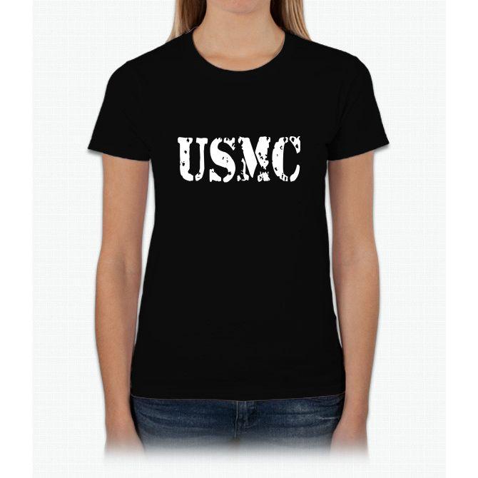 Usmc T Womens T-Shirt