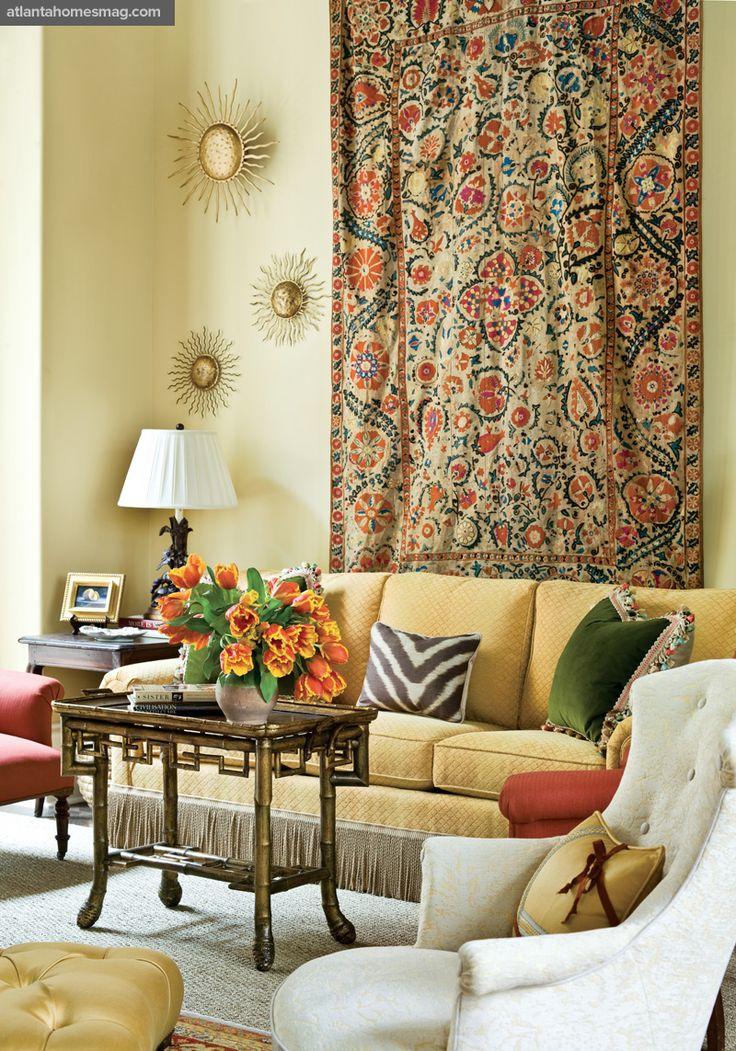 Patricia McLean Atlanta Showhouse Living Room