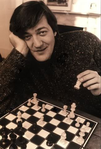 Stephen Fry. He seems so funny and smart. Just imagine the stories he could tell!