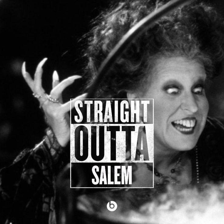 Straight Outta Salem - Winnie Sanderson (Hocus Pocus)