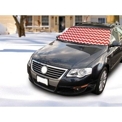Winter Windshield Cover Red