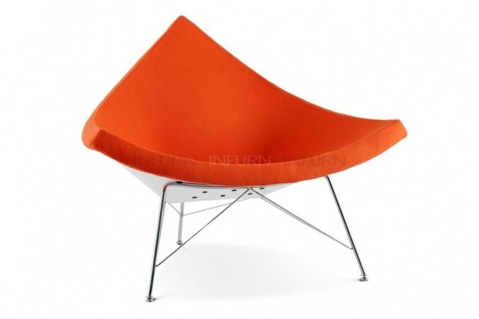coconut stuhl voor vt wonen in oranje  #kleurinspiratie.