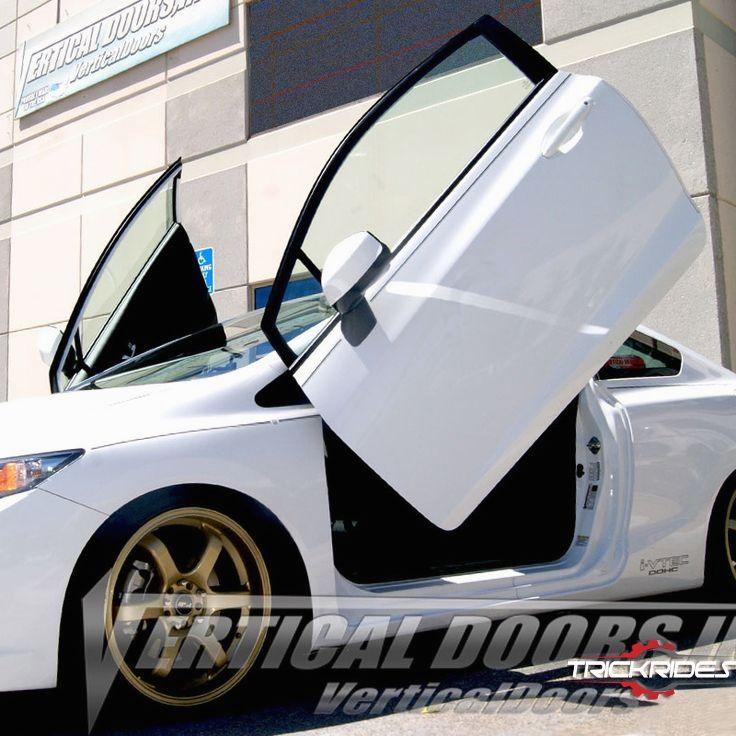 Trickrides Customdoors Trickdoors Carlifestyle Carporn Trickit Vertical Doors Lambo Honda Civic