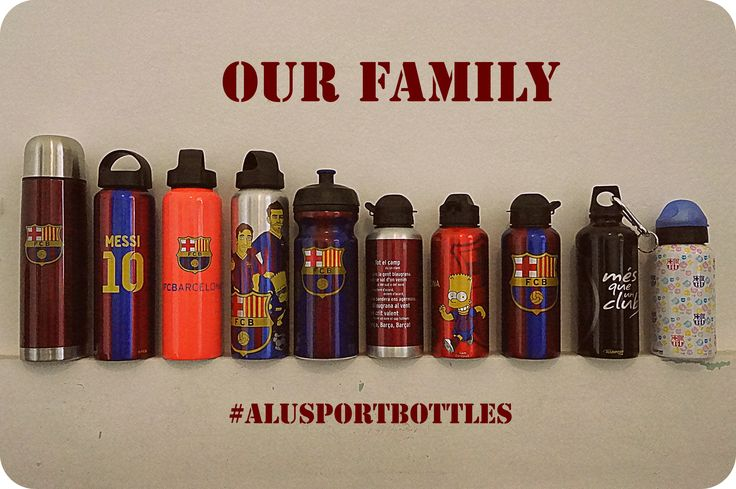 Our family. #barça #alusportbottles #bottles #family