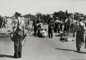 1960-1966:- The genesis of the armed struggle   Sharpeville shootings