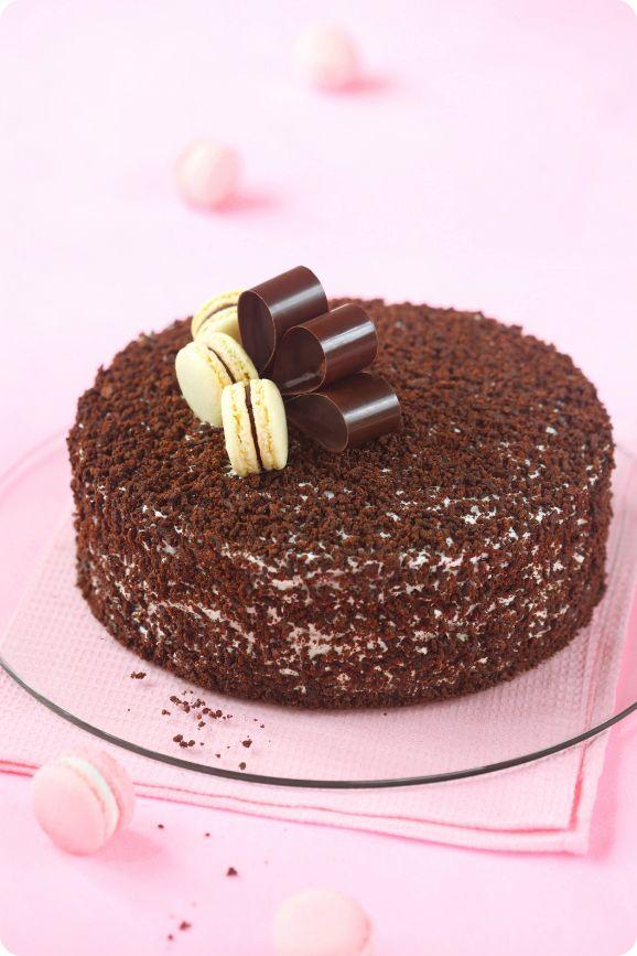Торт ко Дню Рождения блога / Bolo para o Aniversário do blog
