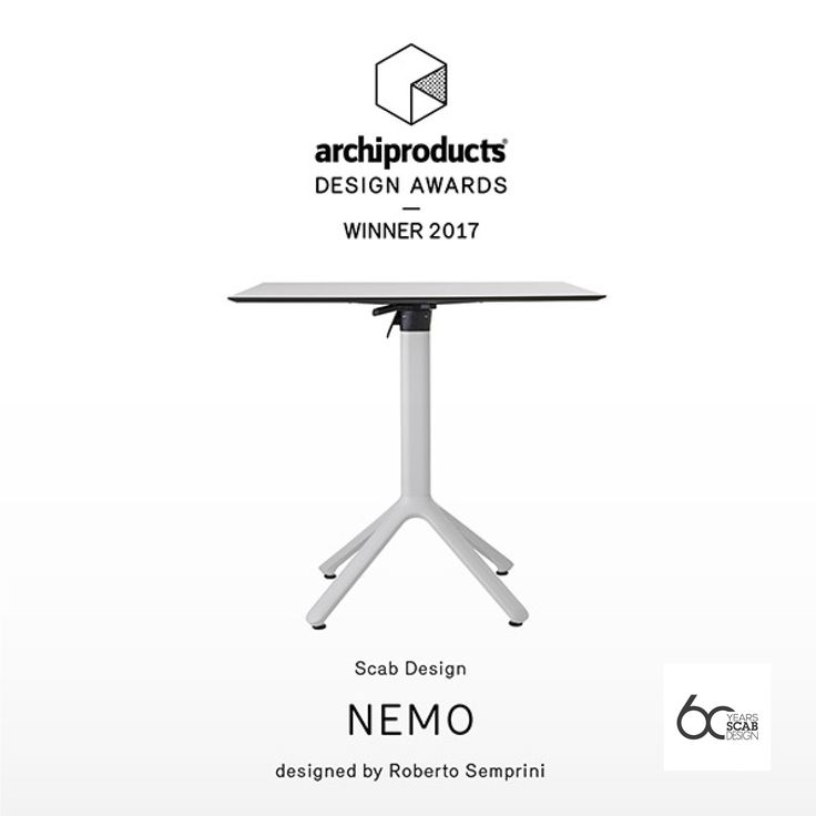Nemo is winner of Archiproducts Design Awards 2017