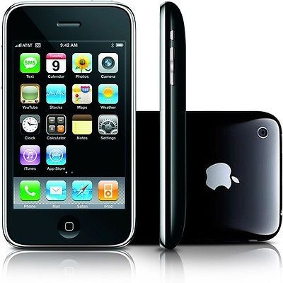 NEW APPLE IPHONE 3GS 8GB BLACK AT&T UNLOCKED SMARTPHONE SB