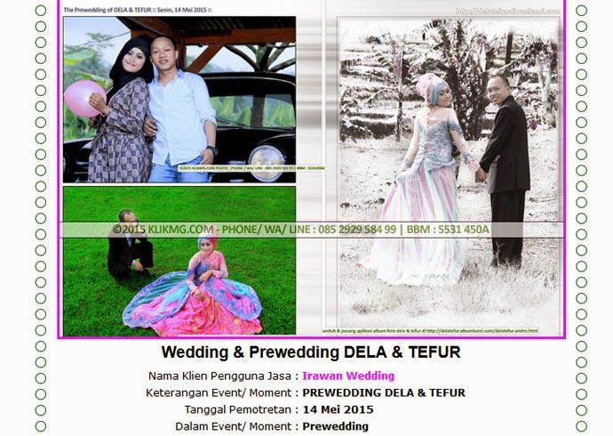 blog.klikmg.com - Rias Pengantin - Fotografi & Promosi Online : Album Foto Prewedding DELA & TEFUR - Tata Rias ole...
