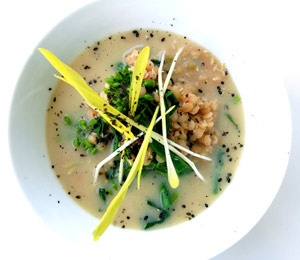 sprouted red lentil and miso soup | Soups | Pinterest