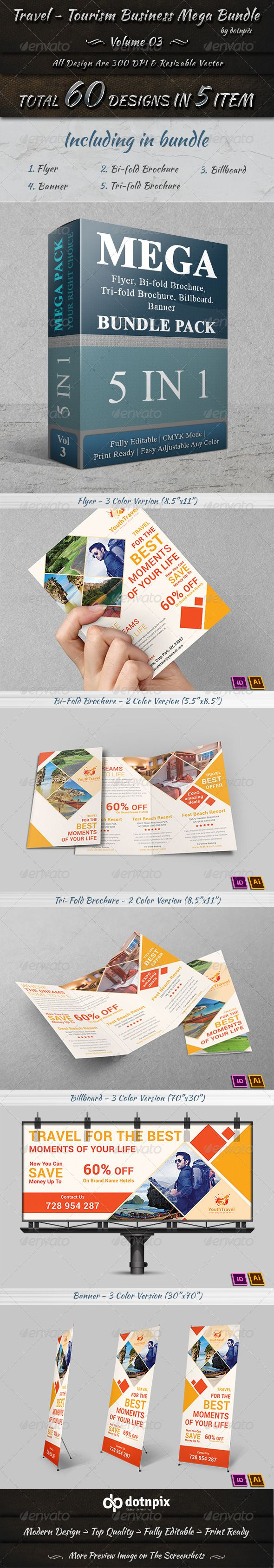 Travel / Tourism Business Mega Bundle | Volume 3