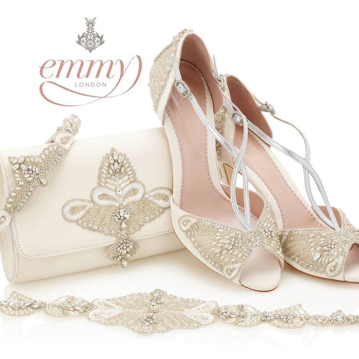 Best 25 flat bridal shoes ideas on pinterest bridal flats stunning new spring 2015 bridal shoes from emmy london junglespirit Image collections